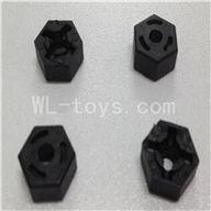 WLtoys L969 L212 parts-Hexagon Wheel Seat(4pcs