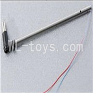 Skytech M10 M10G M10GR RC Helicopter Parts-24 Tail motor set(Long tail pipe & Tail cover & Tail motor)