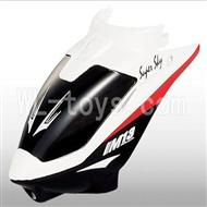 Skytech M13 RC Helicopter Parts-02 Head cover-White
