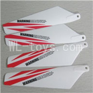 Skytech M13 RC Helicopter Parts-03 Main rotor blades(4pcs-2A+2B)