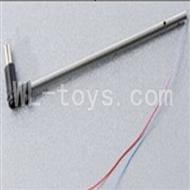 Skytech M13 RC Helicopter Parts-24 Tail motor set(Long tail pipe & Tail cover & Tail motor)