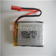 Skytech M16 M16G RC Helicopter Parts-07 Upgrade 3.7V 1100mAh Li-Poly Battery(Fly more power)