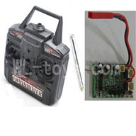Skytech M16 M16G RC Helicopter Parts-21 Transmitter & Antena & Circuit board two version(Version for M16 or M16G)