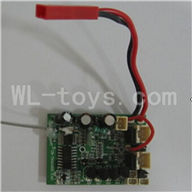 Skytech M16 M16G RC Helicopter Parts-24 Circuit board,Receiver board two version(Version for M16 or M16G)