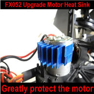 Upgrade FeiLun FX052 RC Helicopter Motor Heat Sink-Greatly protect your main motor