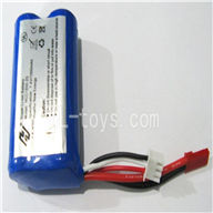 FeiLun FX052 RC Helicopter parts-07 7.4v Li-ion batteries with Red Jst plug