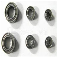 FeiLun FX052 RC Helicopter parts-12 Bearings(6pcs)