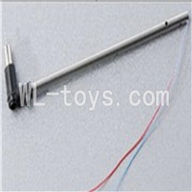 Skytech M3 M3A RC Helicopter Parts-24 Tail motor set(Long tail pipe & Tail cover & Tail motor)