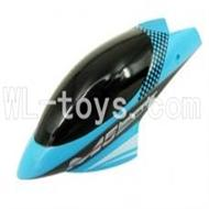 Skytech M5 M5A RC Helicopter Parts-01 Head cover(Blue)