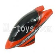 Skytech M5 M5A RC Helicopter Parts-02 Head cover(Red)