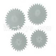 Skytech M5 M5A RC Helicopter Parts-25 Transmission gear(4pcs)