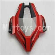 Skytech M60 RC Quadcopter Parts-01 shell,head cover(Red & Gray)