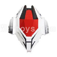 Skytech M60 RC Quadcopter Parts-02 shell,head cover(White & Red)