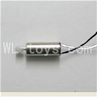 Skytech M60 RC Quadcopter Parts-19 Main Motor A with white and black wire