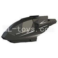 Skytech M25 M35 RC Helicopter parts ,Skytech M25 parts-01 Head cover-Black