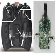 Skytech M25 RC Helicopter parts-21 Transmitter & Circuit board