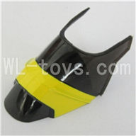 Skytech M37 RC Helicopter Parts-03 Head cover,Shell(Yellow)