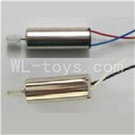 Skytech M37 RC Helicopter Parts-16 Main motor A with Long shaft and gear & Main motor B with Long shaft and gear