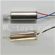 Skytech M39 RC Helicopter Parts-06 Main motor A with Long shaft and gear & Main motor B with Long shaft and gear