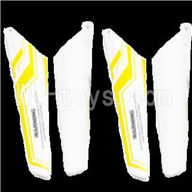 Skytech M39 RC Helicopter Parts-28 Main blades(4pcs)