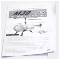 Skytech M39 RC Helicopter Parts-29 Manual