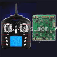WLtoys V323 RC Quadcopter parts-08 Transmitter & Circuit board