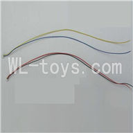 WLtoys V323 RC Quadcopter parts-27 The main motor Wire(1pcs) & The Led Light wire(1pcs)