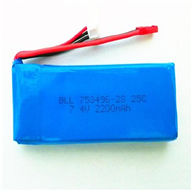 WLtoys V262 RC Quadcopter parts-38 7.4v 2200mah Battery 25C