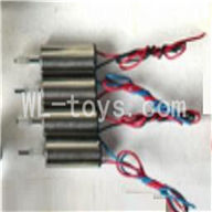 SYMA S026G RC helicopter parts-16 Main motor with long shaft and gear (2pcs) & Main motor with short shaft and gear(2pcs)