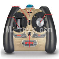 SYMA S026G RC helicopter parts-22 Transmitter