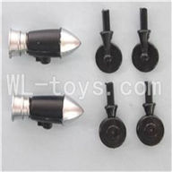 SYMA S026G RC helicopter parts-30 Decorate blade