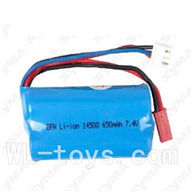 SYMA F1 RC helicopter parts-12 7.4v 650mah Li-poly battery