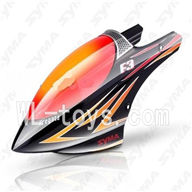 SYMA F3 RC helicopter parts-03 Head cover(Black & Orange)