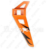 SYMA F3 RC helicopter parts-16 Verticall wing-Orange