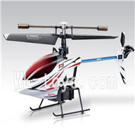 SYMA F3 RC helicopter parts-22 Only helicopter(No battery ,No remote control)-White