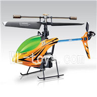 SYMA F3 RC helicopter parts-23 Only helicopter(No battery ,No remote control)-Yellow