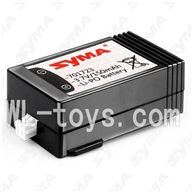 SYMA F3 RC helicopter parts-26 Li-Battery