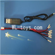 SYMA X4 RC Quadrocopter parts-23 USB & 1-to-5 Cable (Not include the 5 battery)