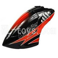 FeiLun FX067 FX067C RC Helicopter parts, FeiLun FX067 parts-01 Head cover-Red