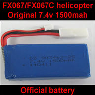 FeiLun FX067 FX067C RC Helicopter parts-16 7.4v 1500mah li-ion battery