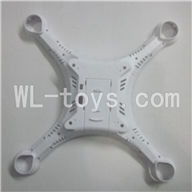 DFD F183 RC Quadcopter Parts-02 Bottom cover shell,Lower cover shell