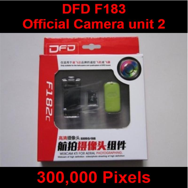 DFD F183 RC Quadcopter Parts-07 DFD Official 300,000 Pixels Camera unit(Include the Reader,Memory card and camera)