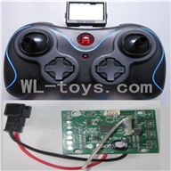 DFD F183 RC Quadcopter Parts-18 Transmitter & Circuit board