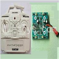 XinXun X46, X46V RC Quadcopter parts-03 Transmitter & Circuit board