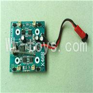 XinXun X46, X46V RC Quadcopter parts-05 Circuit board