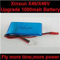 XinXun X46, X46V RC Quadcopter parts-08 Upgrade Battery 7.4V 1000MAH 20C Battery