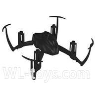 SYMA X2 X2A RC Quadrocopter parts-01 Upper main body frame-Black