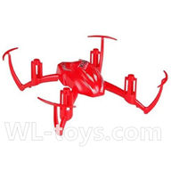 SYMA X2 X2A RC Quadrocopter parts-02 Upper main body frame-Red