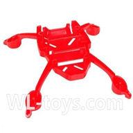 SYMA X2 X2A RC Quadrocopter parts-04 Bottom main body frame-Red
