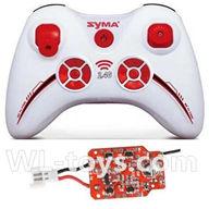 SYMA X2 X2A RC Quadrocopter parts-06 Transmitter & Circuit board